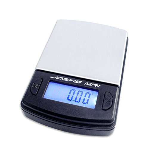 Digitalwaage Feinwaage die in 0,01 g Schritten präzise bis 100g wiegt, Taschenwaage, Briefwaage, Goldwaage, Tischwaage mit Edelstahl Wiegefläche