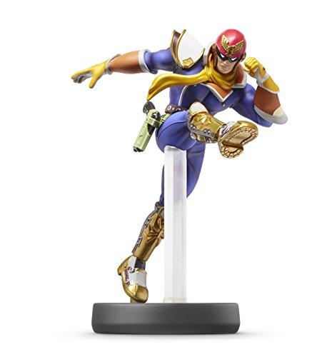 amiibo-Captain-Falcon-Super-Smash-Brothers-series-by-Dubblebla