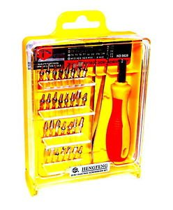 Preisvergleich Produktbild 32 tlg. Profi Präzisions Feinmechaniker Feinwerkzeug Werkzeug Set NO. 9828