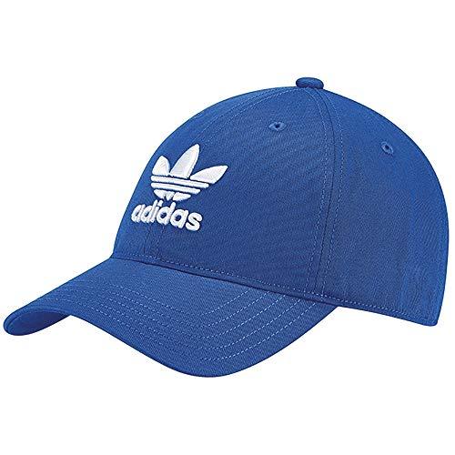 Adidas trefoil, berretto uomo, blu, osfy