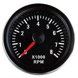 /Öldruckanzeige f/ür meisten 12V PKW//LKW // Dolity 3in1 Voltmeter Wassertemperatur