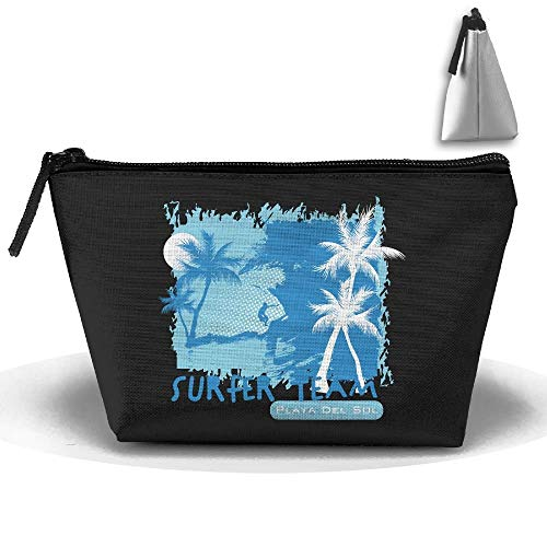 Beach Surfing Trapezoid Receive Bag Makeup Bag Home Office Travel Cases Pack In Womens Avon