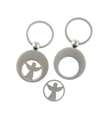 Preisvergleich Produktbild °* Schlüsselanhänger ENGEL mit Einkaufswagenchip