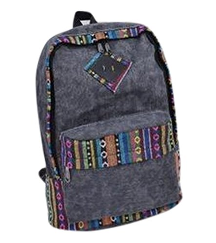 fanselatm-womens-retro-vintage-canvas-backpack-casual-daypack-for-teenage-girls-grey