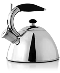 Fresco Soft Grip Stainless Steel Kettle, 2-Liter
