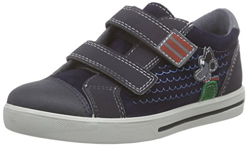 Ricosta Snap Jungen Low-Top Blau (nautic/see 172)