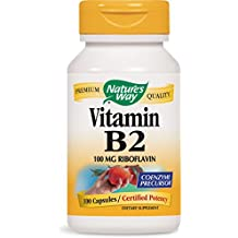 Natures Way, Vitamin B2 - 100mg x100caps