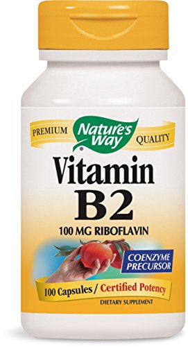 Nature's Way - Vitamine B-2 100 mg - 100 Capsules