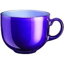 Luminarc mujer Colors 9211115 taza de cristal, 500 ml, violeta, 6 pcs