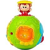 Winfun - Bola de animales infantil con luz & sonido (ColorBaby 44527)