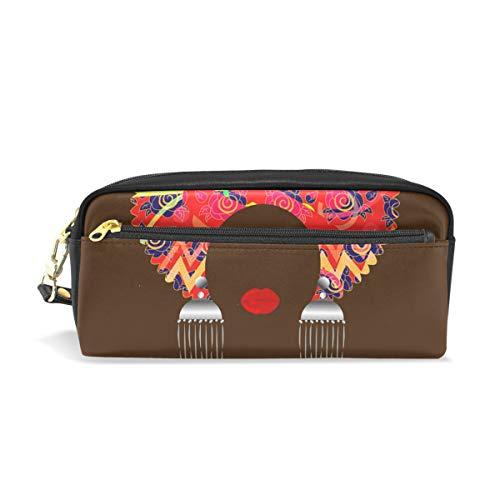 Traditionelle Dashiki (isaoa großes Fassungsvermögen Federmäppchen mit Reißverschluss Stationery Supplies Traditionelle Dashiki Druck Bleistift Tasche Pen Bag Kosmetik Make-up Tasche für Mädchen und Jungen)