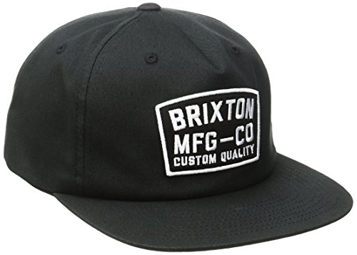 Brixton Herren Cap National Snapback Black