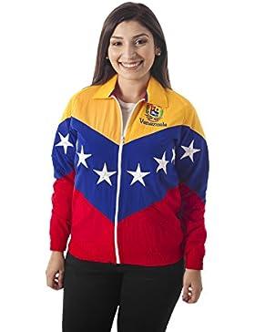 CHAQUETA TRICOLOR DE LA BANDERA DE VENEZUELA