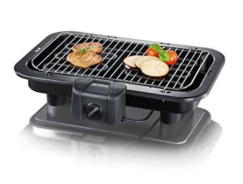 Severin PG 2790 Barbecue-Grill 2500W Nero