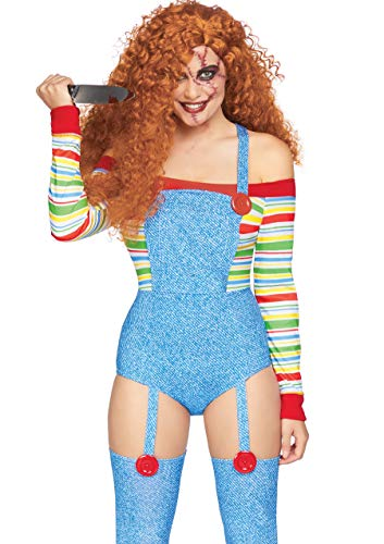 Kostüm Killer Doll - Leg Avenue Killer Doll Fancy Dress Costume Women's X-Small