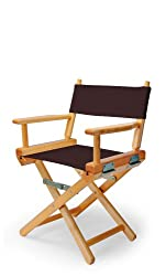Telescope Casual Childs Director Chair, Brown with Varnish Frame