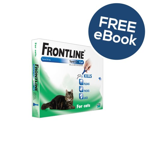 frontline-spot-on-for-cats-3-pipettes-includes-free-exclusive-petwellr-flea-and-tick-e-book
