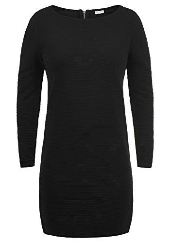 JACQUELINE de YONG by ONLY Greti Damen Kleid Sweat-Dress Langarmkleid mit Rundhals-Ausschnitt aus hochwertiger Materialqualität, Größe:M,...