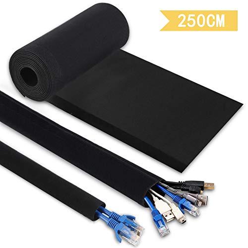 Hommie 250CM Mangas de Gestión de Cables