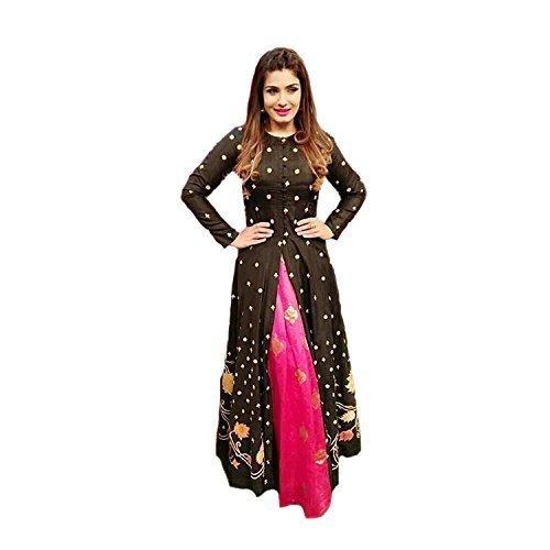 Kuldevi Fashion Silk Lehenga Choli (Raveena__Free Size )