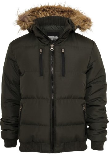 Urban Classics TB434 Herren Jacke Expedition Jacket Vert/olive