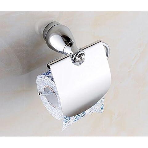 LLYY-Europeo cristallo tovagliolo titolare rustico carta igienica titolare rotolo di