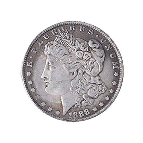Garciadia Morgan Coin Morgan Magic Prop Magische Münze Magier Münzmagnet kann geklebt Werden