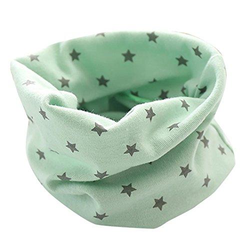 inter Jungen Mädchen Baby Cute Sterne Schal Baumwolle O Ring Halstücher (Halloween-kostüm-ideen Für 1 Jahr Alt)