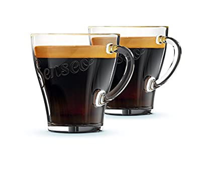 Senseo Ca6510/00 Mug and Bowl – cup/tumbler set, Transparent, Glass, Coffee