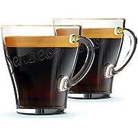 Senseo CA6510/00 tazón Transparente Café 2 Pieza(s) - Taza/Vaso (Establecer, 0,18 L, Transparente, Vidrio, Café, 2 Pieza(s))