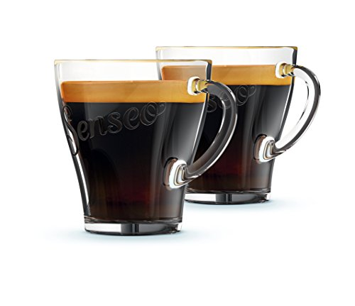 Philips CA6510/00 Senseo Kaffeegläser (180ml, 2 Stück) transparent