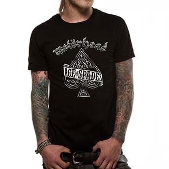Ace of Spades Herren T-Shirt, Gr. Small, Schwarz