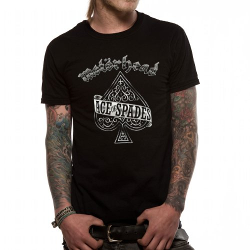 Motörhead - MOTORHEAD - ACE OF SPADES, T-shirt da uomo, nero (schwarz), M