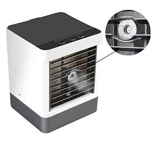lubishengwuliu-Air Conditioner Fan, Mini-USB-tragbare verdunstende Desktop-Kaltluftbefeuchter, geeignet