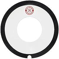Ahead ABFSD14-DON - Tambor de rosquilla grande, color negro y transparente, 14 pulgadas