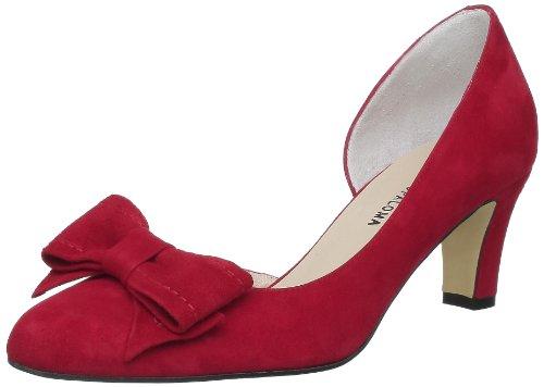Studio Paloma 18510 356 Taco 504508 Forrado, Sandali donna rosso (Rouge (Ante rojo))