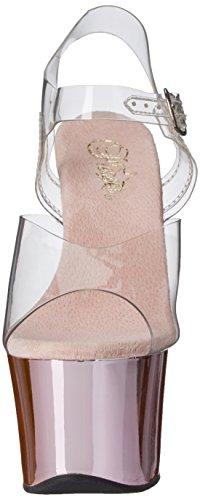 PleaserSky308/c/hpch - Sandali donna Rosa (Clr/B. Pink Chrome)