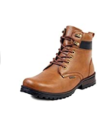 463d9b13adcf Brown Men s Boots  Buy Brown Men s Boots online at best prices in ...
