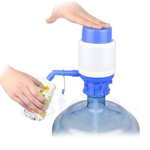 SOSA Manual Hand Press Water Dispenser Pump for 20 Litre Bottles  available at amazon for Rs.140