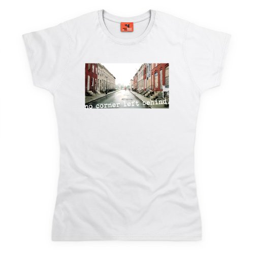 Official The Wire T-Shirt - No Corner, Damen Wei