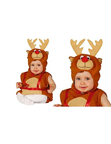 Imagen de disfraz de reno navideño baby para bebé