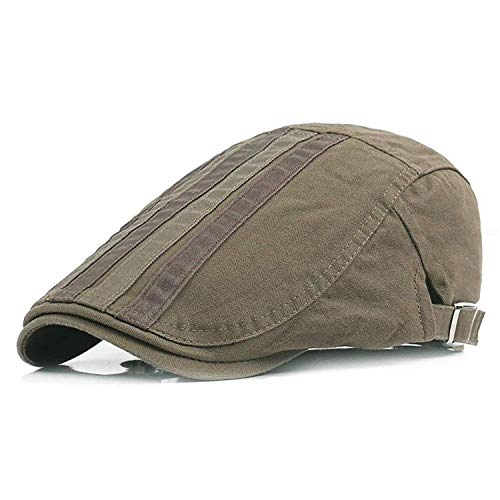olle Newsboy Gatsby Beret Hats (Army Green) ()
