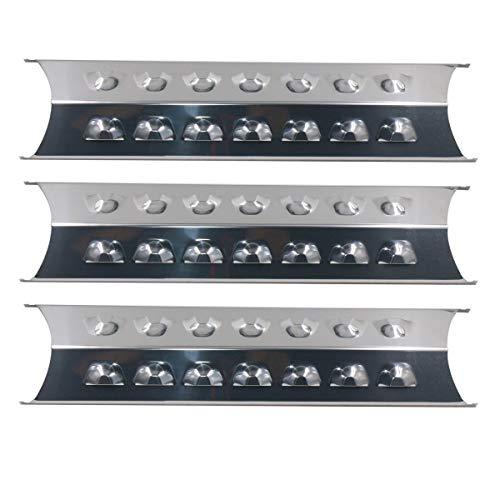 Bar.B.Q.S 95201 (3pack) Edelstahl-Hitzeschild, Hitze-Platte, Wärme Zelt, Replacemeant für Gasgrill Modelle GSC3219TA, GSC3219TN, perfekte Flamme E3520-LPG/NG und Präsidenten Wahl Gasgrill Modelle -