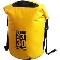 Karana Ocean Dry Pack Day Waterproof Travel Kayak Duffel Bag 30 Litre 30L Yellow