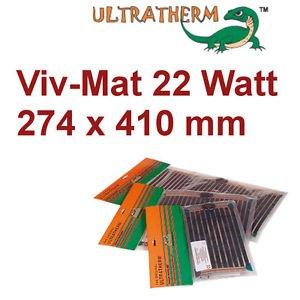 Ultratherm® Terrarien Heizung Viv Mat