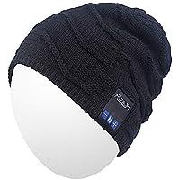 Bluetooth Beanie,Qshell Music Hat Wireless Bluetooth Headphone Headset Earphone Stereo Speaker Mic Hands free,Best Birthday Mens Womens Winter Outdoor Skiing Snowboard Hiking