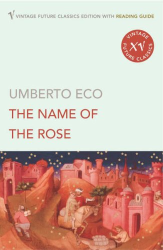 Book cover for The Name of the Rose