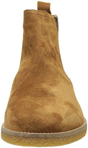Base London Herren Ferdinand Chelsea Boots Beige (Tan Suede)