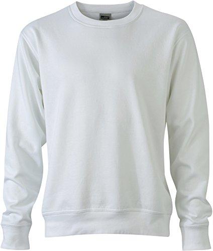 FaS50840 Workwear Sweatshirt Rundhals Pullover auch in Übergröße 60° C waschbar White