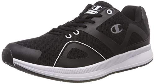 Champion Low Cut Shoe Lyte Mesh Scarpe da Trail Running Uomo, Nero (NBK Kk001) 43 EU